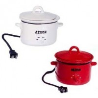 (**) Dollhouse Electric Crockpot - Product Image