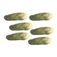 6 pc Dollhouse Cucumber - Product Image
