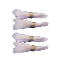 (*) Dollhouse Napkins & Napkin Rings - Product Image