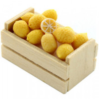 (*) Dollhouse Crate of loose Lemons - Product Image