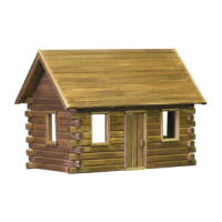 Crockett's Cabin Dollhouse (Kit) - Product Image