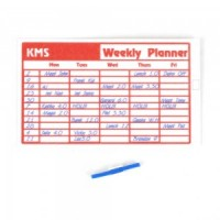 Dollhouse Weekly Planner and Pen - Product Image