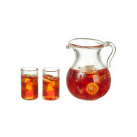 (*) Dollhouse 3 pc Iced Tea Set - Product Image