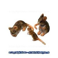 Dollhouse 3 pc Mice Set - Product Image
