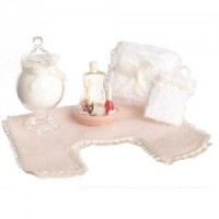 Dollhouse Bathroom Accessory Set #2 - Product Image