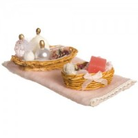 Dollhouse Bathroom Accessory Set #3 - Product Image