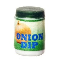 Dollhouse Jar of Onion Dip - Product Image