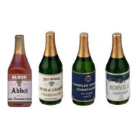 Dollhouse Champagne Bottle(s)- Choice of Styles - - Product Image