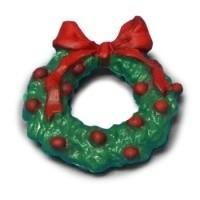 Dollhouse Christmas Metal Wreath - Product Image