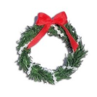 Dollhouse Christmas Wreath - Product Image