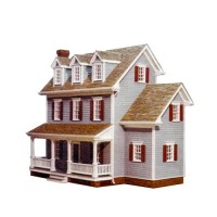 Dollhouse Farmhouse Shell (Kit) # 3 - Product Image