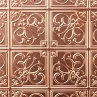 Dollhouse Copper Tin Ceiling Panel - Product Image