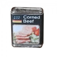 (**) Dollhouse Cornbeef Tin - Product Image