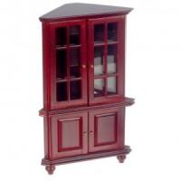 Dollhouse Corner Hutch- Choice of Finish -  - Product Image