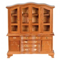 Dollhouse Early American Hutch- Choice of Finish -  - Product Image