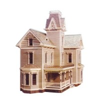 Dollhouse Edwardian Victorian Shell (Kit) - Product Image