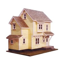 Dollhouse Farmhouse Shell (Kit) # 3 - Product Image