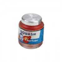 Dollhouse Filled Baby Food Jar - Product Image