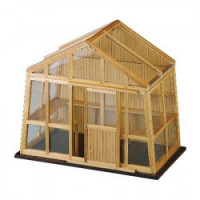 (* Closeout *) Dollhouse Greenhouse - Empty - Product Image