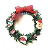 Dollhouse Holiday Wreath - Product Image