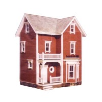 Dollhouse Farmhouse Shell (Kit) # 1 - Product Image