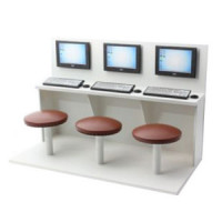 Dollhouse Internet Cafe- Choice of Size - - Product Image