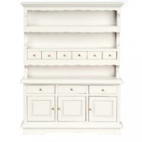 Dollhouse Dining Room Hutch- Choice of Finish -  - Product Image