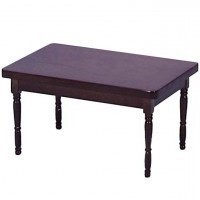 Dollhouse Rectangular Country Table- Choice of Finish - - Product Image
