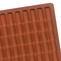 Dollhouse Red Adobe Tile Panel (PVC) - Product Image
