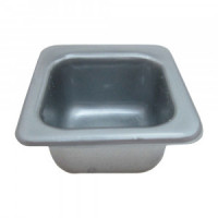 Dollhouse Single Kitchen/Bar Sink - Silver - Product Image