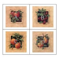 Dollhouse Square Fruit Kitchen Prints - Product Image