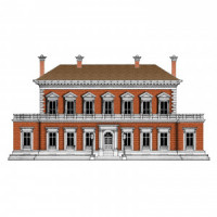 Dollhouse Manor House - Kit(s)- Choice of Style - - Product Image