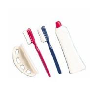 Dollhouse Toothbrushes, Holder & Paste Set - Product Image