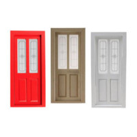 Dollhouse Transom Door- Choice of Finishes - - Product Image