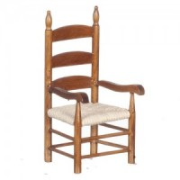 Dollhouse Walnut Shaker Chair(s) - Product Image
