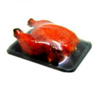 (*) Dollhouse Wrapped Roasted Chicken - Product Image