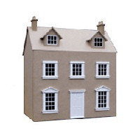 Georgian Cottage Dollshouse (Kit) - Product Image