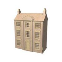Georgian Mansion Dollshouse (Kit) - Product Image