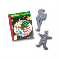 (*) Holiday Cookie Cook Book Set- New 2020 - - Product Image