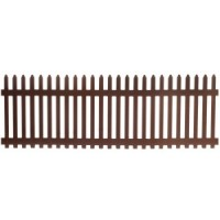 Dollhouse Rusty Picket Fence - Product Image