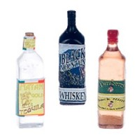 § Disc .50¢ Off - Dollhouse Bottle of Liquor - Product Image