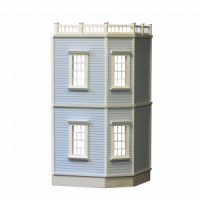 New Haven 2-Story Dollhouse Addition (Kit) - Product Image