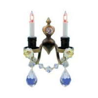 Nostalgia Double Candle Wall Sconce - Product Image