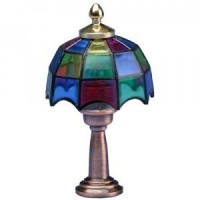 § Sale $2 Off - Tiffany Table Lamp - Rounded Shade - Product Image
