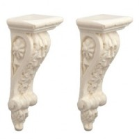 Pair of Acanthus Leaf Corbel Brackets - Product Image