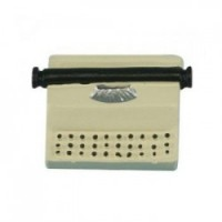 § Sale - Dollhouse Portable Typewriter - Product Image