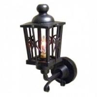Dollhouse Black Up-Arm Coach Lamp - Product Image