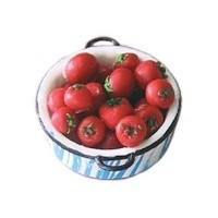 Dollhouse Pan of Tomatoes - Product Image