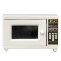 Dollhouse White Microwave - Product Image