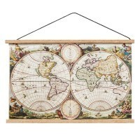 (**) Dollhouse Old World Map - Product Image
